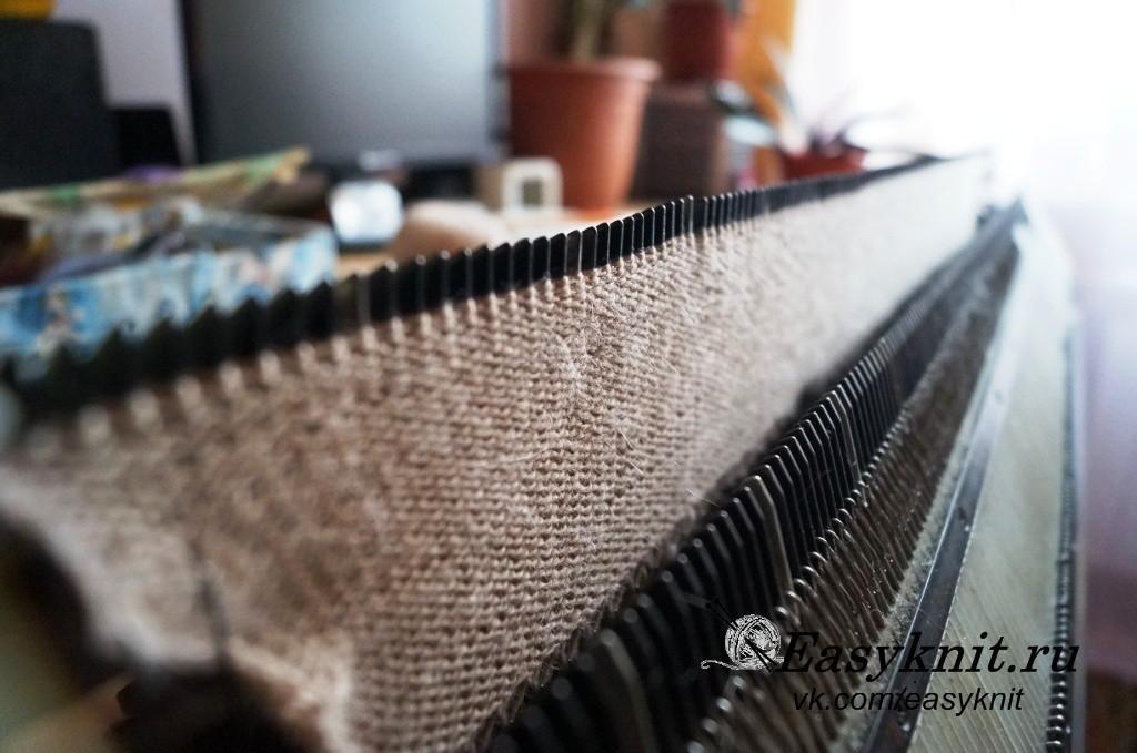 вязание полотна
