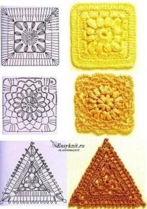квадрат мотив