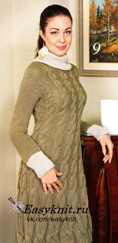 оливковое платье фото