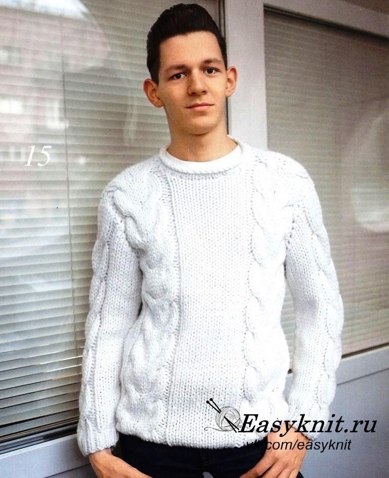 свитер, втачной рукав фото