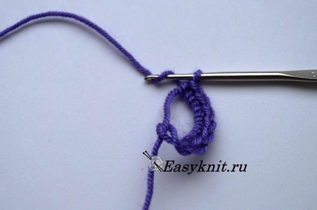 Как вязать коврики из тряпок крючком для начинающих