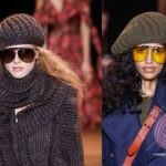 Модные вязаные шапки сезон 2019-2020 год