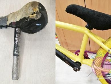 Как перетянуть седло на BMX своими руками